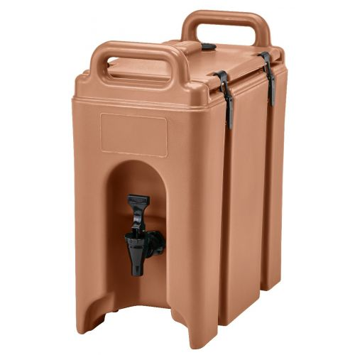 Cambro 250LCD157 2-1/2 Gallon Camtainer Beverage Carrier (Coffee Beige)