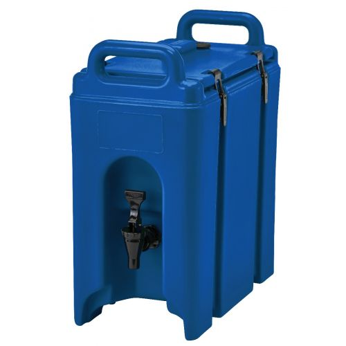 Cambro 250LCD186 2-1/2 Gallon Camtainer Beverage Carrier (Navy Blue)