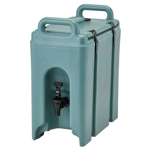 Cambro 250LCD401 2-1/2 Gallon Camtainer Beverage Carrier (Slate Blue)