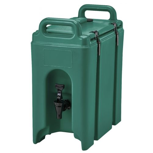 Cambro 250LCD519 2-1/2 Gallon Camtainer Beverage Carrier (Green)