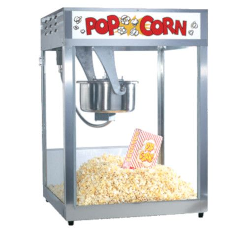 Gold Medal 2554 Macho Pop Value Priced 16 oz. Popcorn Popper