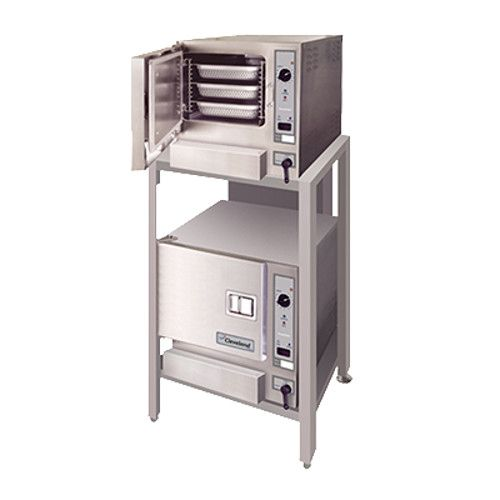 Cleveland (2) 22CET63.1 Electric Boilerless Double Stacked SteamChef