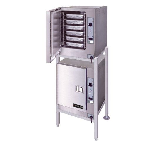 Cleveland (2) 22CET66.1 SteamChef™ 6 High Efficiency Convection Steamer Double Stack