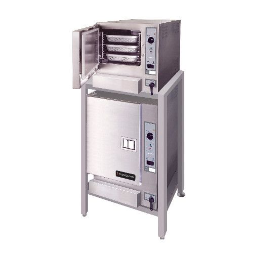 Cleveland (2) 22CGT63.1 SteamChef™ 6 Convection Steamer, Auto Water Double Stack