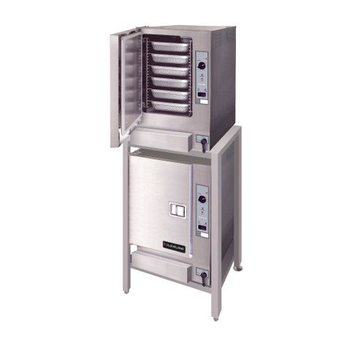 Cleveland (2) 22CGT66.1 SteamChef™ 6 Convection Steamer, Auto Water Double Stack