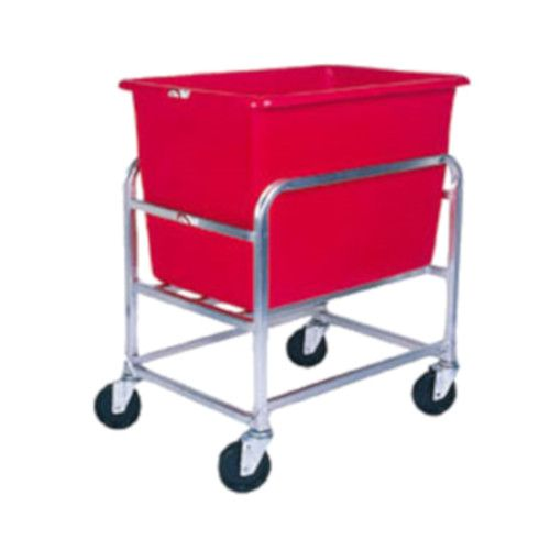 Winholt 30-6-SS/RD Bulk Goods Cart with Red Tub
