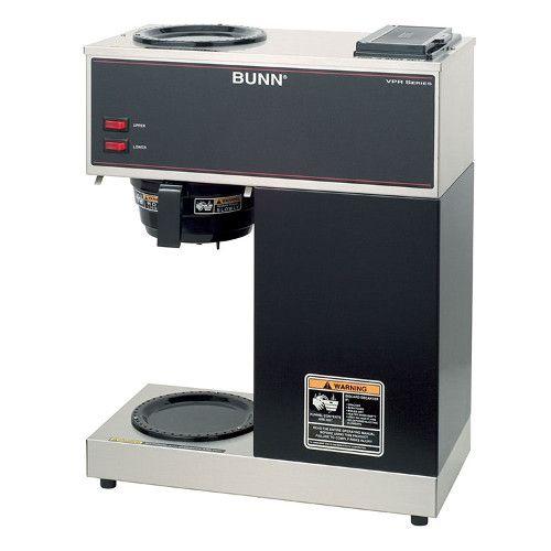 Bunn 33200.0000 VPR Pourover Coffee Brewer - Black Decor