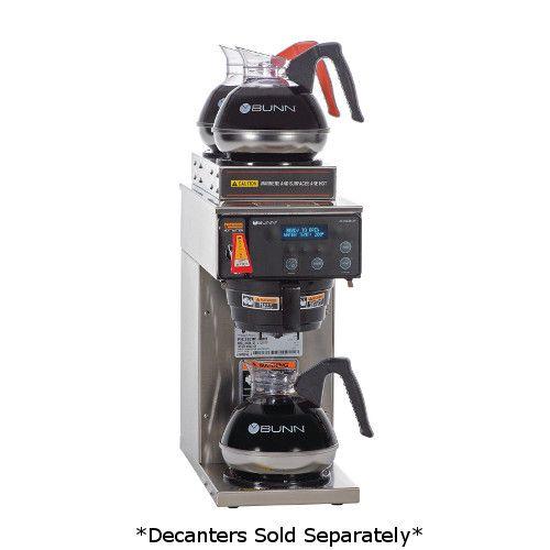 Bunn 38700.0000 AXIOM-15-3 Coffee Brewer 200 Oz Capacity Tank