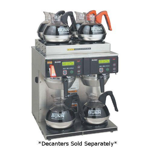 Bunn 38700.0014 AXIOM 4/2 Twin 15 Gallons Per Hour Coffee Brewer