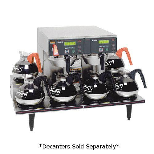Bunn 38700.0015 AXIOM 0/6 Twin 15 Gallons Per Hour Coffee Brewer