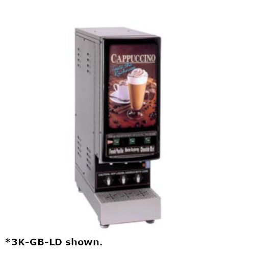 Grindmaster-Cecilware 3K-GB-NL Electric Hot Powder Cappuccino Dispenser