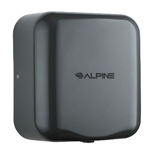 Alpine 400-10-GRY Hemlock Hand Dryer with Gray Finish