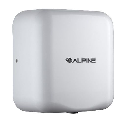 Alpine 400-10-WHI Hemlock Hand Dryer with White Finish
