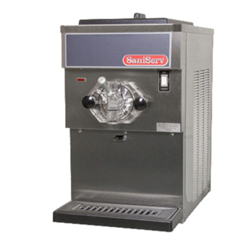 SaniServ 401 Countertop Soft Serve / Yogurt Freezer with Electronic Consistency Control - 1 HP Dasher and 1 HP Compressor
