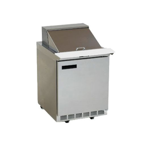 Delfield 4427N-6 Sandwich / Salad Refrigerated Single-Section Prep Table