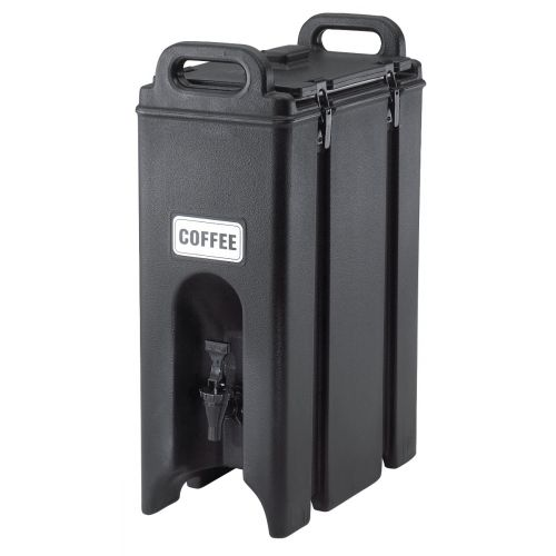 Cambro 500LCD110 4-3/4 Gallon Camtainer Beverage Carrier (Black)