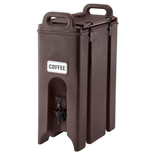 Cambro 500LCD131 4-3/4 Gallon Camtainer Beverage Carrier (Dark Brown)