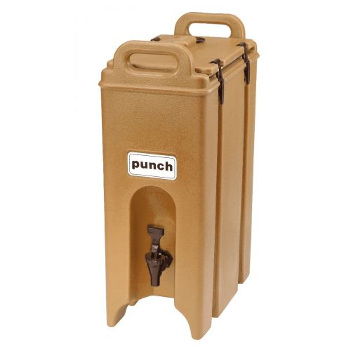 Cambro 500LCD157 4-3/4 Gallon Camtainer Beverage Carrier (Coffee Beige)