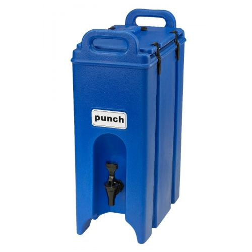Cambro 500LCD186 4-3/4 Gallon Camtainer Beverage Carrier (Navy Blue)