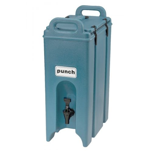 Cambro 500LCD401 4-3/4 Gallon Camtainer Beverage Carrier (Slate Blue)