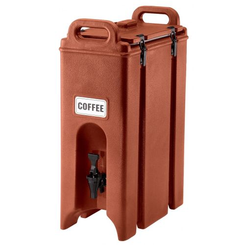 Cambro 500LCD402 4-3/4 Gallon Camtainer Beverage Carrier (Brick Red)