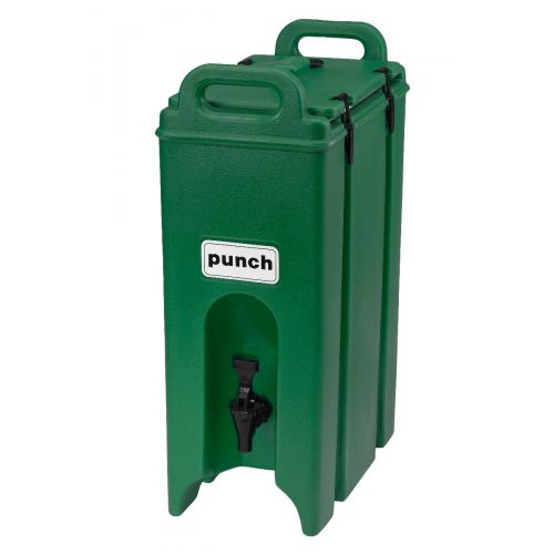 Cambro 500LCD519 4-3/4 Gallon Camtainer Beverage Carrier (Green)
