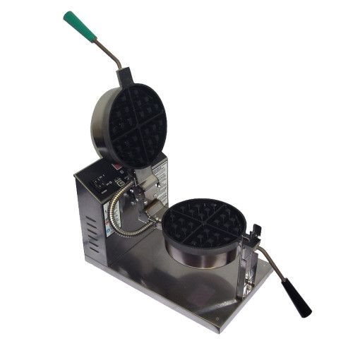Gold Medal 5021ET Belgian Waffle Baker with Electronic Control & Non-Stick Coating