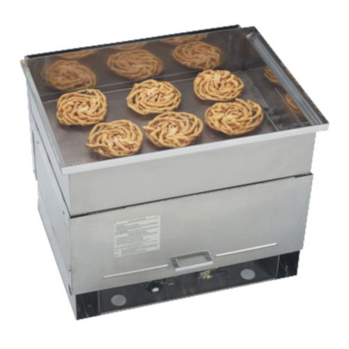 Gold Medal 5099NS Six-Cake Funnel Gas Fryer