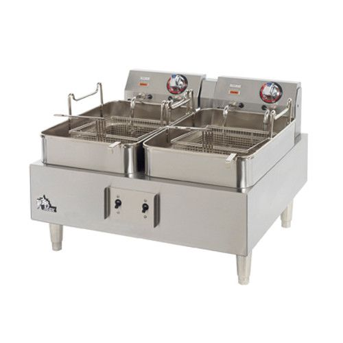 Star 530TF Split Pot Electric Countertop Fryer