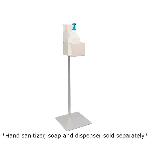 New Age 53179 Heavy Duty Hand Sanitation Dispenser Stand (Stand Only) 14