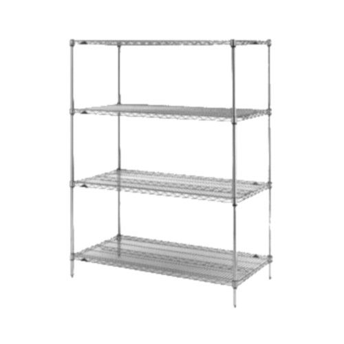 Metro 5A537C Super Erecta© Starter Wire Shelving Unit 36X24X74
