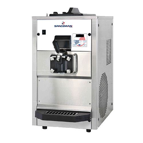 Spaceman 6228H Countertop Air-Cooled Self-Contained Soft-Serve Machine with Digital Controls - 1.25 HP