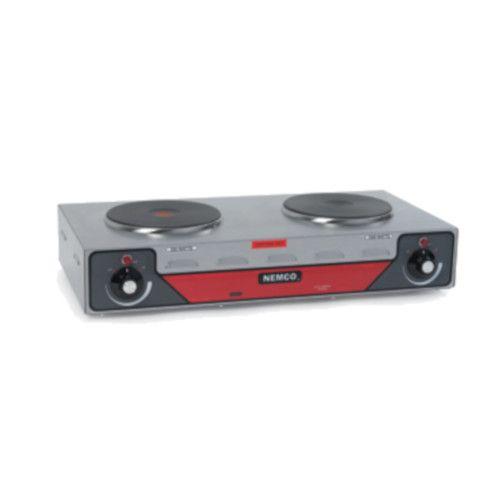 Nemco 6310-2 Double Burner Electric Countertop Hotplate