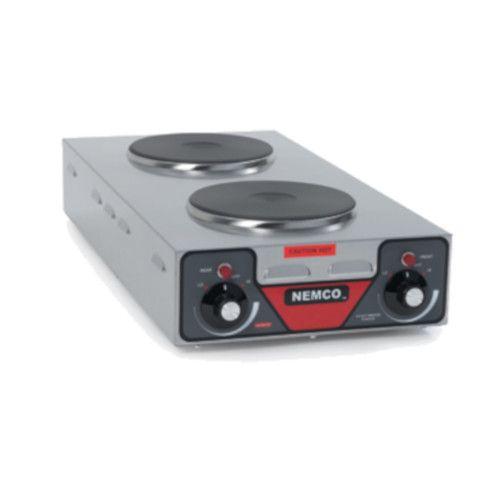 Nemco 6310-3 Vertical Double Burner Electric Countertop Hotplate