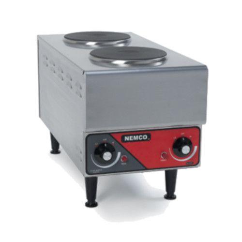 Nemco 6311-1-240 Two Burner Electric Countertop Hotplate