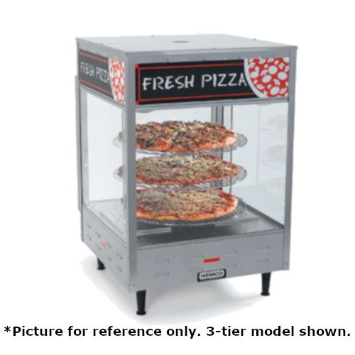 Nemco 6452-2 Pass-Thru Countertop Pizza Merchandiser with 18