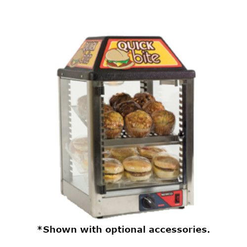Nemco 6457 Countertop Heated Snack Merchandiser