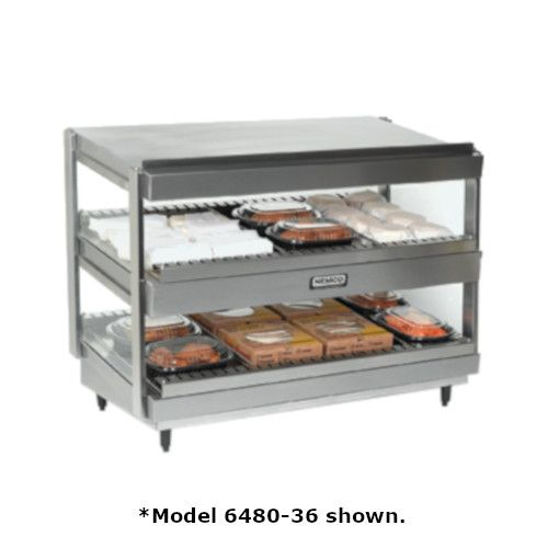 Nemco 6480-18S Multi-Product Merchandiser with Slanted Dual Shelf