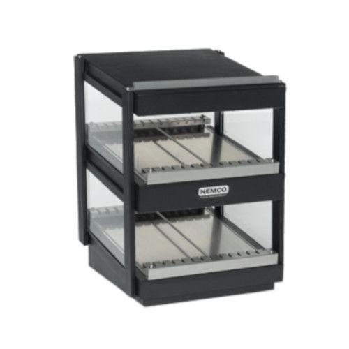 Nemco 6480-18S-B Multi-Product Shelf Merchandiser with Slanted Shelves