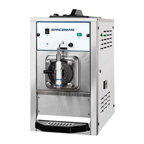 Spaceman 6650 Non-Diary Countertop Air-Cooled Self-Contained Frozen Beverage Machine - 1/3 HP