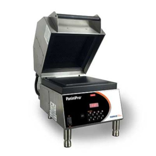 Nemco 6900-240-FF PaniniPro Sandwich Press with Smooth Top and Bottom