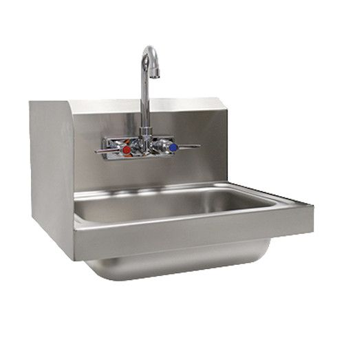 Advance Tabco 7-PS-66L Wall Mount Hand Sink 14