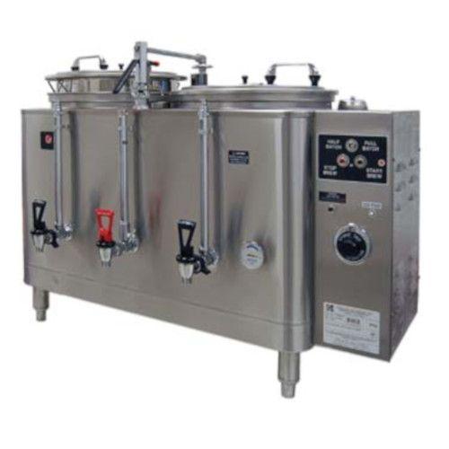 Grindmaster-Cecilware 74410(E) Double Midline Heat Exchange Coffee Urn