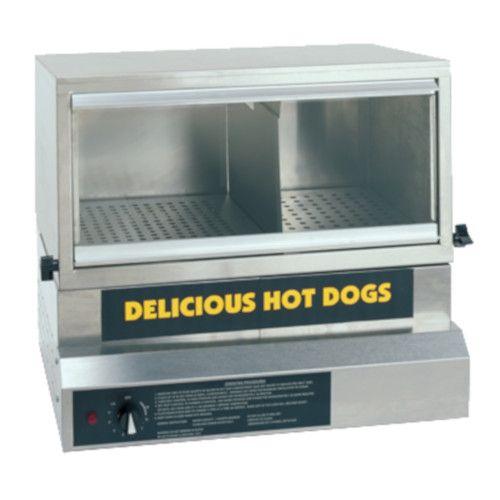 Gold Medal 8151 Large Hot Dog Steamer