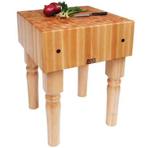 John Boos AB02 Boos Block Butcher Block Maple Table 18