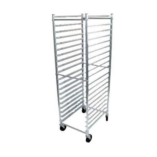 John Boos ABPR-1820-3KD Mobile Bun Pan Rack with 20-Pan Capacity