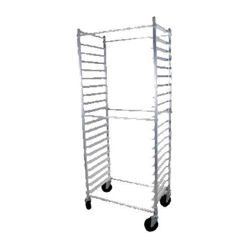 John Boos ABPR-1820-3KDS Mobile Side-Loading Bun Pan Rack with 20-Pan Capacity