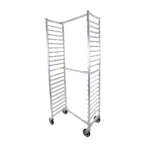 John Boos ABPR-1820-ZNS Mobile Side-Loading Bun Pan Rack with Welded Set-Up and Nesting Design