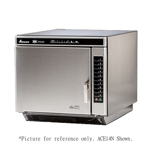 Amana ACE14V Ventless Commercial Convection-Microwave Combi Oven with Touch Pad