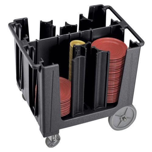 Cambro ADCS110 Adjustable Dish Cart (Black)